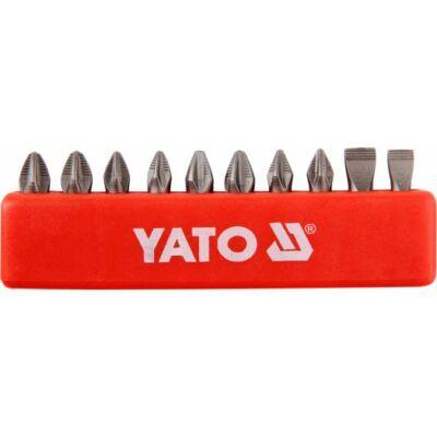 """Yato Bitkészlet PH1-2  PZ1-2 10db-os 25mm 1/4"""""""