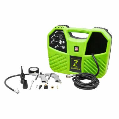 Zipper ZI-COM2-8 hordozható kompresszor 1,1 kW