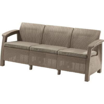 Allibert Corfu love seat max háromszemélyes kanapé
