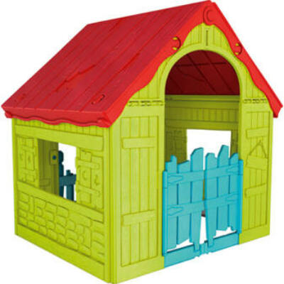 Keter Foldable play house összecsukható műanyag játékház
