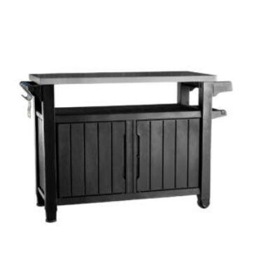 Keter Unity XL műanyag kerti grill asztal 183l
