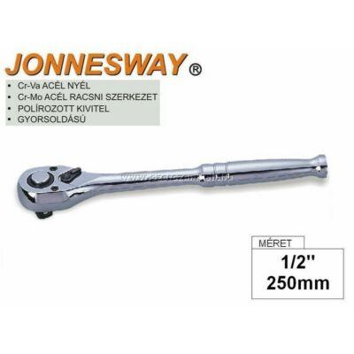 "Jonnesway Profi Racsnis Hajtókar 1/2"" / 250mm / 36fog / R2904A"