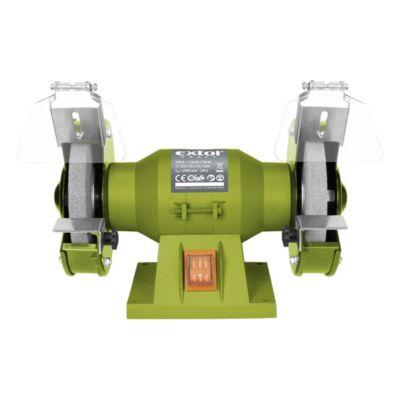 Extol kettős köszörűgép 150W,száraz,125×12,7×16mm, 2950 ford/perc, P36, P80, 6kg