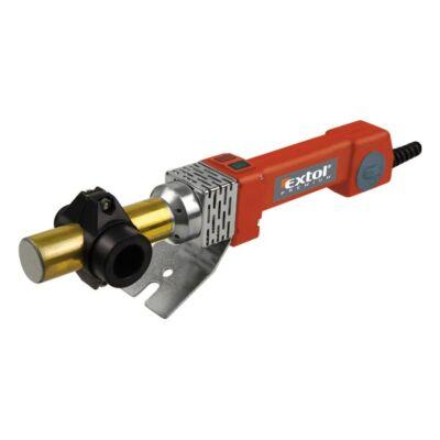 Extol műanyagcső hegesztő gép, 800W, PTW 90, cserélhető fejek:16-20-25-32mm, 0-260°C
