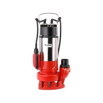Extol szennyvíz szivattyú, úszókapcsolóval, 750W, SP750F, szállító teljesítmény: 18m3/h, max. száll. 10 m