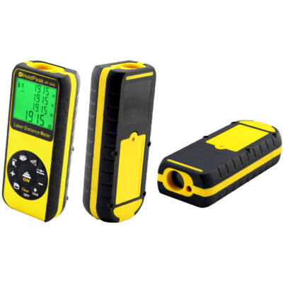 HOLDPEAK 3040 Digitális, lézeres távolságmérő, 0.03-40m, memória, terület/térfogat és háromszög