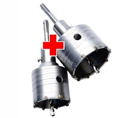 SDS-Plus Koronafúró készlet 65 és 80mm / 2db-os (dobozfúró)