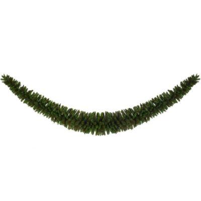 Óriás karácsonyi girland (zöld műfenyő)
