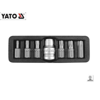 Yato Bit Készlet 7db-os (Furatos Torx) T25-T55 / YT-0416