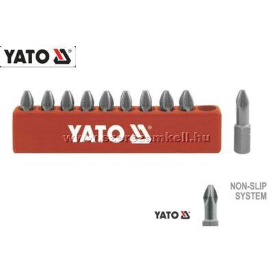 Yato Behajtóhegy Készlet 10db-os PH2 / YT-0475