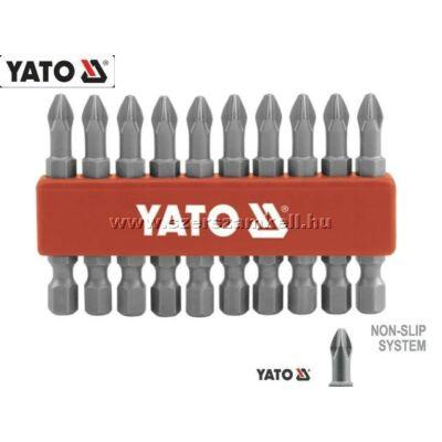 Yato Behajtóhegy Készlet Hosszított 10db-os PH2 / YT-0478