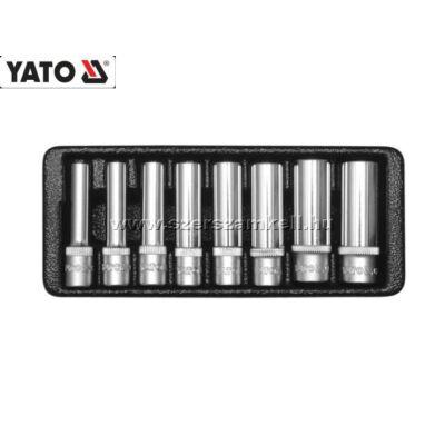 """Yato YT-14431 Hosszú Dugókulcs Készlet 1/4"""" 5,5-13mm (8db-os)"""