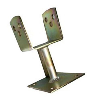 Oszloptartó 120x120 talpas (csavarozható)